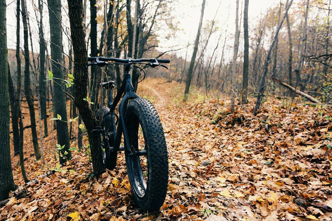 Fall fat biking at New Fane AND Greenbush today. Check the blog in my profile for more photos